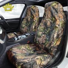 Four seasons Fundas de asientos de coche para caza, pesca al aire libre, impermeables, universales, para jeep, animales, limpieza fácil de desmontar, viaje