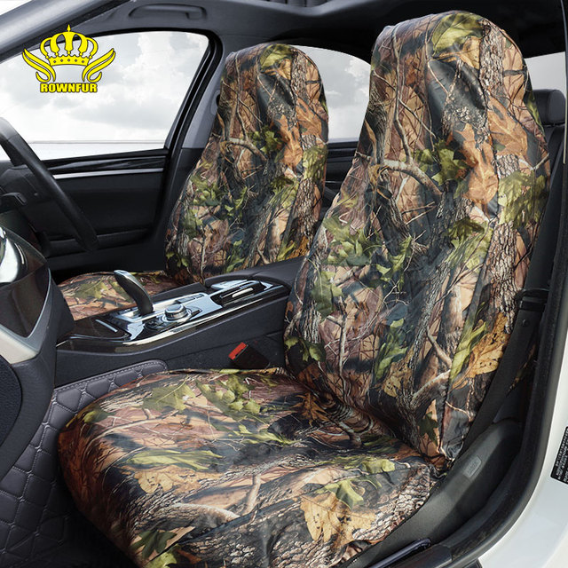 Four seasons Waterproof Hunting outdoor fishing universal car seats covers for jeep animals easy disassemble cleaning travel