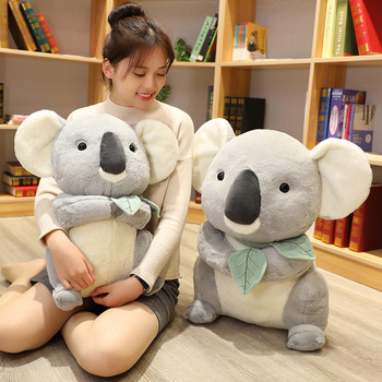 New Arrival Cute Koala Plush Toys Koala Soft Stuffed Plush Doll Girlfriend Kids Baby Birthday Christmas Gift 1pc 30cm sitting mother and baby koala plush toys stuffed koala dolls soft pillows kids toys good quality
