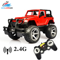 New Arrival 35CM 1:12 RC Car On Radio Control Jeep Dirt Bike Model Toy Cars with Remote Control Kid Gift One Key Open/Close Door
