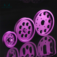 LIGHT WEIGHT CRANK PULLEY For Nissan skyline GTR RB20 RB25 RB26 PULLEY purple