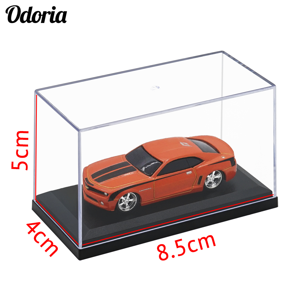 Puppe Auto Modell Spielzeug Vitrine Box Staubdicht Cube 35 cm Acryl Showcase