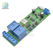 Smart Wifi Switch Universal Relay Module 2CH USB DC5V/7-32V