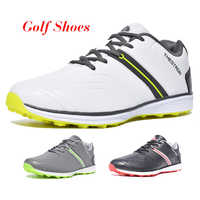 2019 neue Männer Golf Schuhe Wasserdichte Spikeless/Nicht-slip Golf Turnschuhe Leichte Sport Trainer