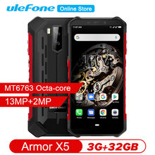 Ulefone Armor X5 Ip68 Robuuste Smartphone P23 Android 9.0 Shockproof Octa Core Superbattery 3 Gb 32 Gb 13MP Ontgrendeld Mobiele telefoon(China)