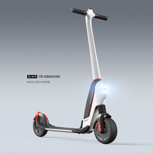 U1aa алюминиевый сплав Материал черный и белый Электрический Скутер Складной 2 колеса для взрослых