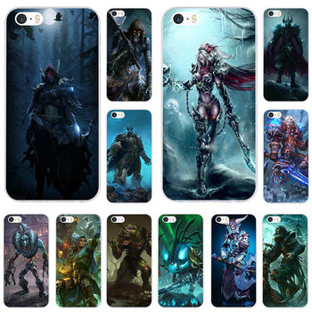 Games Lich King Stormrage Soft TPU Silicone Phone Cases Cover for iPhone 8 7 6 6S Plus X XR XS Max 5 5S SE 5C 4 4S Bags Shell image
