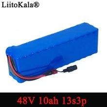 LiitoKala Batería de bicicleta eléctrica, 48v, 10ah, 18650 li ion, kit de conversión de bicicleta bafang, 1000w, 54,6 v