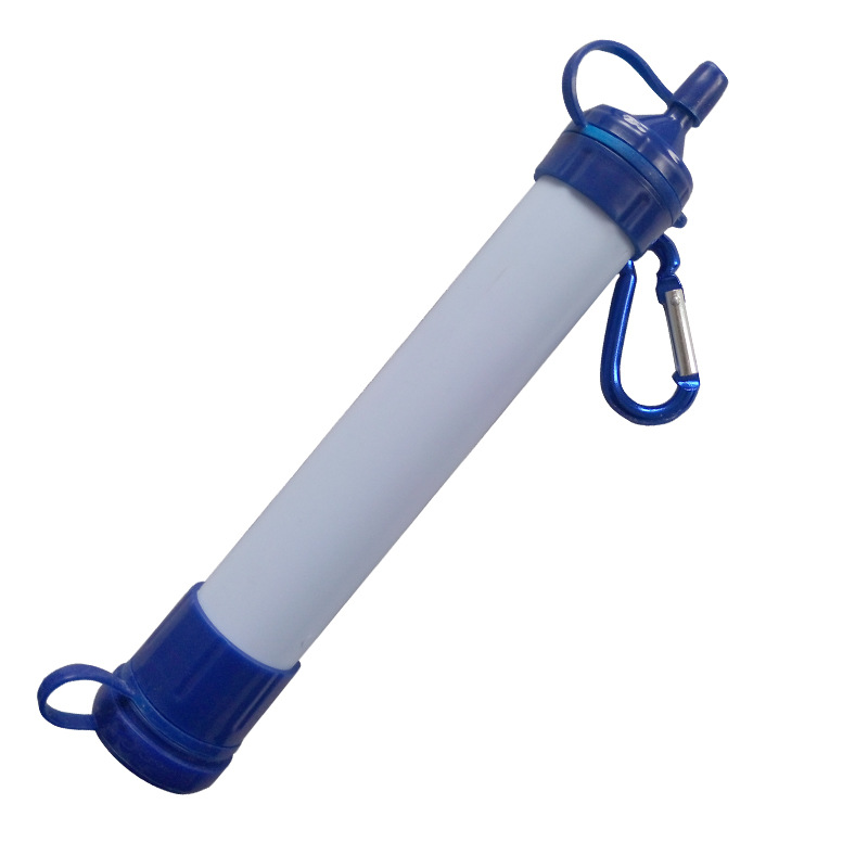 Outdoor Drinking Water Filter Personal Portable Filter Survival Straw & Amp; Other Outdoor Emergency Water Purifier