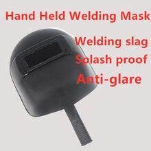 Hand Gehalten Schweißen Maske Schutz Schweißen Kappe Kunststoff Maske Schweißen Maske (mit objektiv)