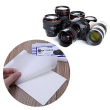 10PCS Lens Tissue Cleaning Paper Cloth Wipe Clean Tool Booklet Accessories for Canon Nikon Camera Len Filter Glasses