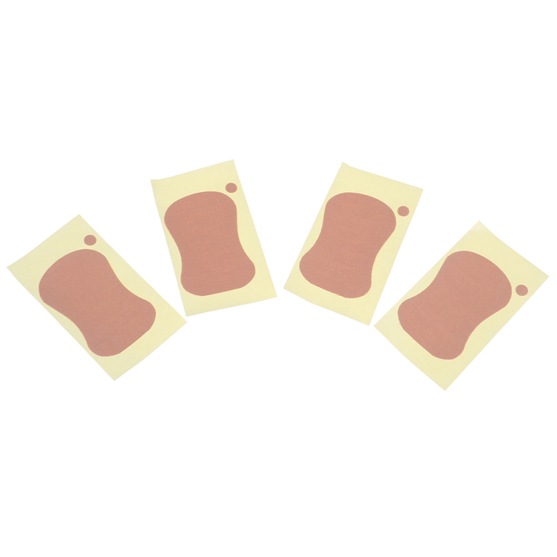 4pcs/lot Sweat Pad Underarm Adhesive Sweat Pad Armpit Antiperspirant Deodorant Sweat-absorbent Stickers For Shoe Inserts