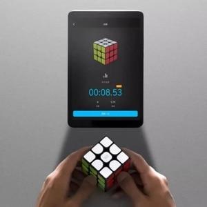 Image 4 - 샤오미 mi jia 스마트 블루투스 매직 큐브 게이트웨이 링키지 3x3x3 mi 스퀘어 마그네틱 큐브 퍼즐 과학 교육 교육 장난감 선물