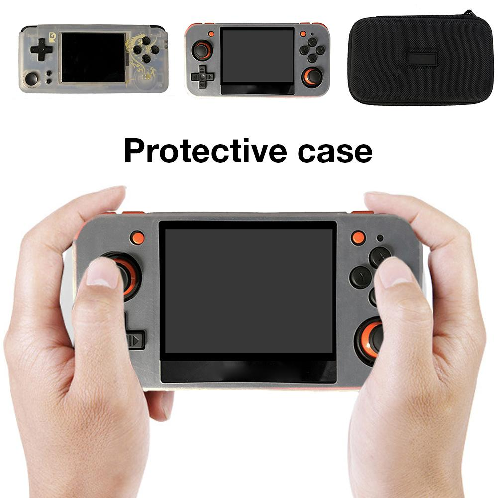 For RG350 Protective Case Bag Zhou E For K101 Handheld Protection Game Machine Silicone Sleeve