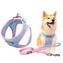 Поводок для собак и поводок кошек жгут Обувь с дышащей сеткой