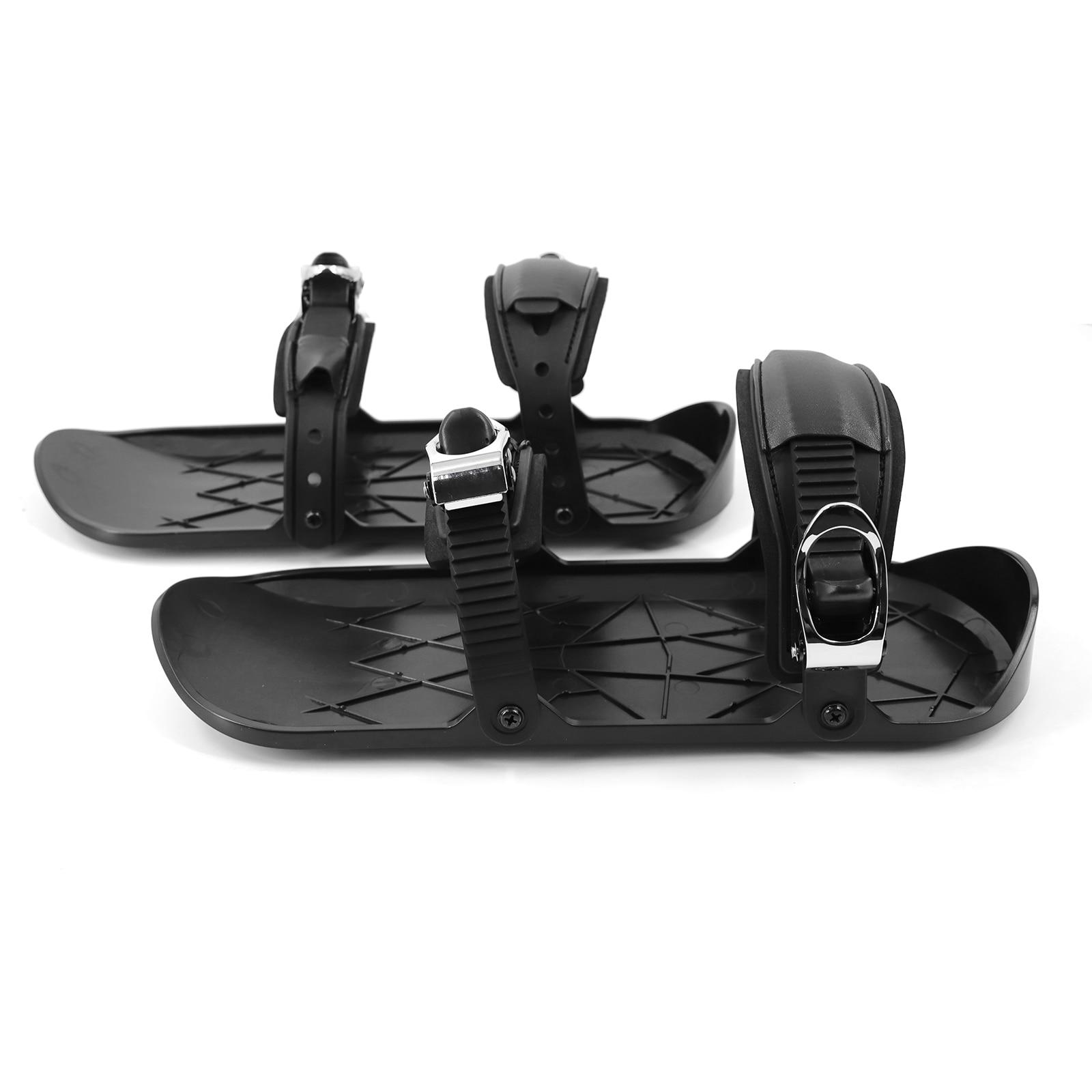 Лыжные мини-скейты, снегоступы для катания на лыжах, сноуборде, зимние сани для катания, уличные лыжные инструменты, подарок для детей