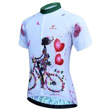 2019 Cycling Jersey Women Quick-dry Breathable MTB Bike Jersey Shirt Maillot Ciclismo Short Sleeve Pro Team Cycling Clothing