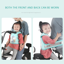 Carrier Harness-Buckle Safety-Belt Bicycle Vehicle Adjustable Electric Kids Children