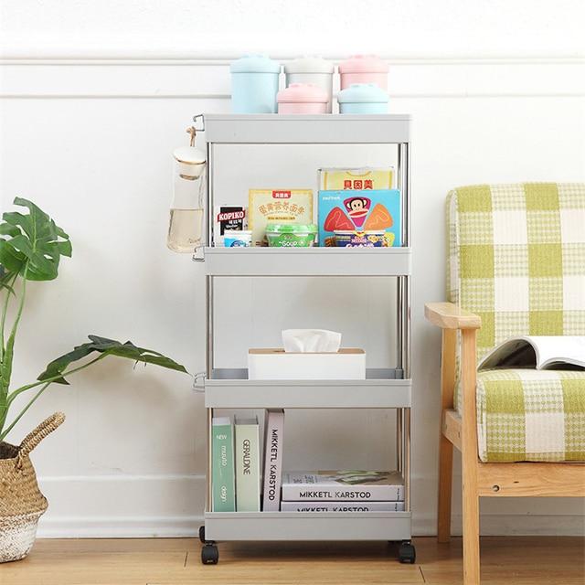 Фото мебель для ванной комнаты кухонная полка хранения тонкий стеллаж цена