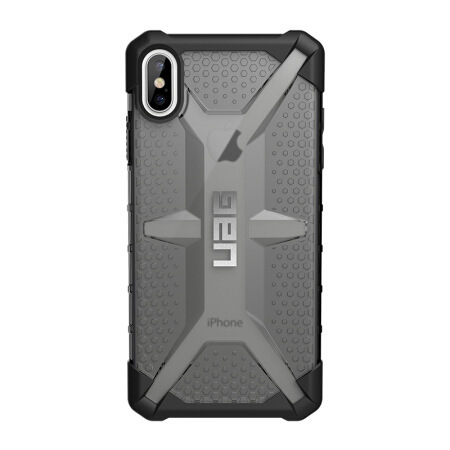 Applicable IPhone Xs MAX (6.5 Inch) Drop-resistant Cell Phone Case/Protective Case Diamond UAG Transparent Color
