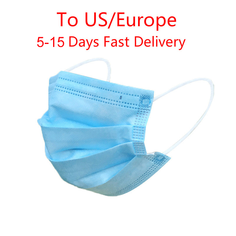 10/20/50/100pcs 3 Layers Mouth Mask Face Mask Men Women Anti Dust Mouth Nose Cover Anti Bacterial Anti-fog And Haze Masks