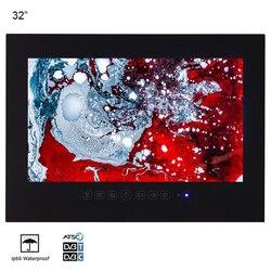 Souria 32 cali IP66 wodoodporna łazienka LED Full HD TV luksusowy Hotel czarny prysznic wodoodporny