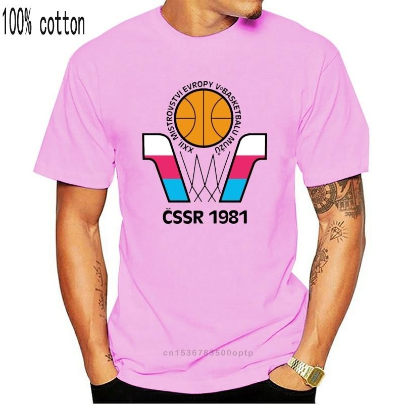 Europeu, euro, basquete, campeonato, 1981, cssr, checoslováquia rússia, sov cartoon t camisa masculina unissex nova moda|Camisetas|   -