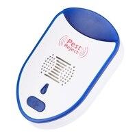 ABUI repelente electrónico de mosquitos repelente ultrasónico hogar enchufe de la UE|Lámparas matamosquitos| |  -