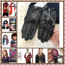 Подарок шарфа, перчатки, кожаный ремень для г-жи дег, Испания, весна и осень(4