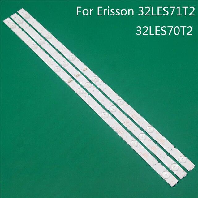 A iluminação conduzida da tevê para as barras 32les71t2 de erisson 32les70t2 conduziu a luz de fundo tiras linha régua 5800 w32001 3p00 0p00 ver00.00 rdl320hy