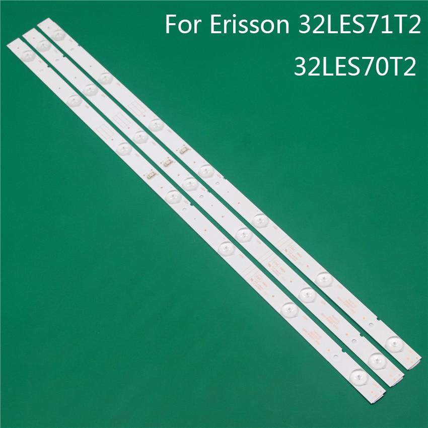 LED TV Illumination For Erisson 32LES71T2 32LES70T2 LED Bars Backlight Strips Line Ruler 5800-W32001-3P00 0P00 Ver00.00 RDL320HY