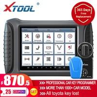 XTOOL-Herramienta de diagnóstico OBD2 para coche, sistema profesional para automóvil con programador de clave e inmovilizador, Xcon actualización gratuita en línea, 100 PAD3, nuevo