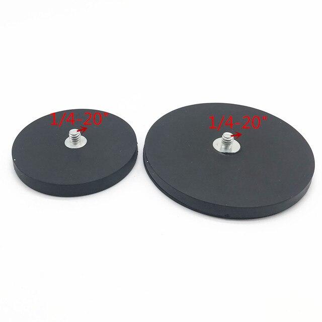 Magnetische magnet auto motorrad saugnapf halterung 1/4 Schraube Montieren DSLR Kamera Zubehör Punkt für kamera camcorder smartphone