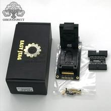 Adaptador de enchufes UFS BGA 254 para caja JTAG fácil plus