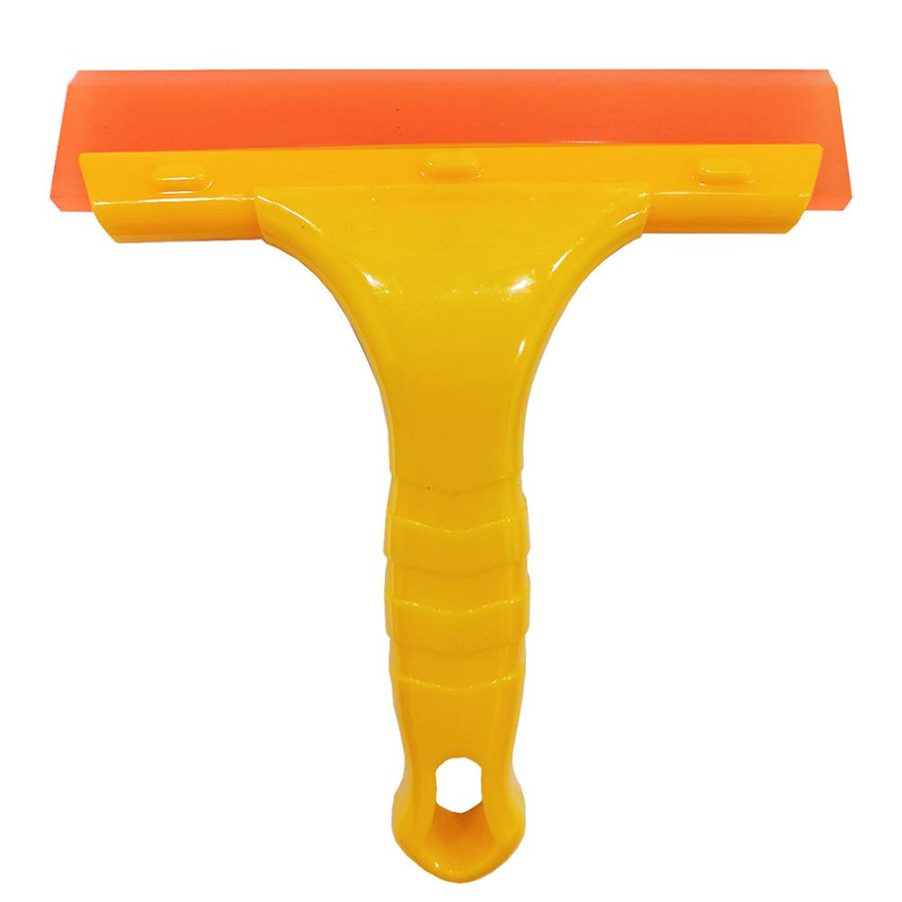 Silicone Home Office Car Water Wiper Squeegee Blade Wash Window Glass Clean Shower Fog Vapour Cleaning Brush B39