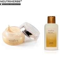 Neutrherbs Beauty Dark Skin Whitening Cream + Body Lotion Set Smooth Skin Repair Underarm White Cream