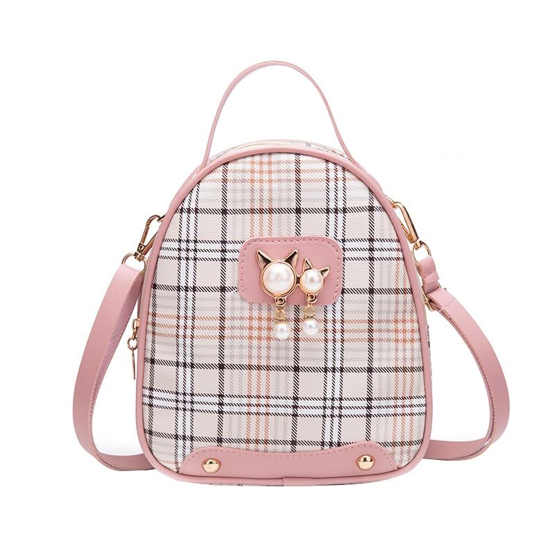 Vento Marea Mini Backpack Crossbody Bag For Teenage Girls 2020 Plain Small Women Shoulder Purse Korean Style New Convertible Bag