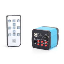 14MP Microscope Camera HDMI 1080P USB Digital Industrial Camera Video Microscope Kit TF Card Video Recorder for CPU PCB Repair