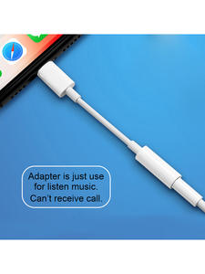 Headphone Adapter For iPhone 7 8 11 X XR AUX Earphone Adaptador on IOS 11 12 13 To 3.5mm