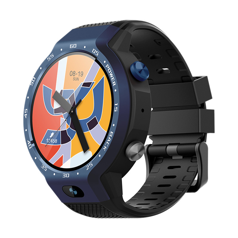 ABHU-Z30 Dual System 4G Smart Watch Phone Android 7.1 5MP Front Camera 600Mah Support GPS WIFI Heart Rate Smartwatch