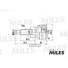 Шрус Daewoo Matiz 0.8 98- Нар. Ga20079 Miles арт. GA20079
