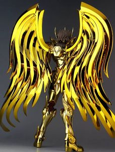 Image 3 - in stock Great Toys Sagittarius Aiolos SOG Ex action figure toy metal armor soul of gold