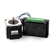 Nema 23 Stepper Motor 57mm 3A Drive TB6600 motor for laser CNC router 3D printer cnc maching 57mm gearbox geared stepper motor ratio 10 1 nema23 l 56mm 3a cnc router