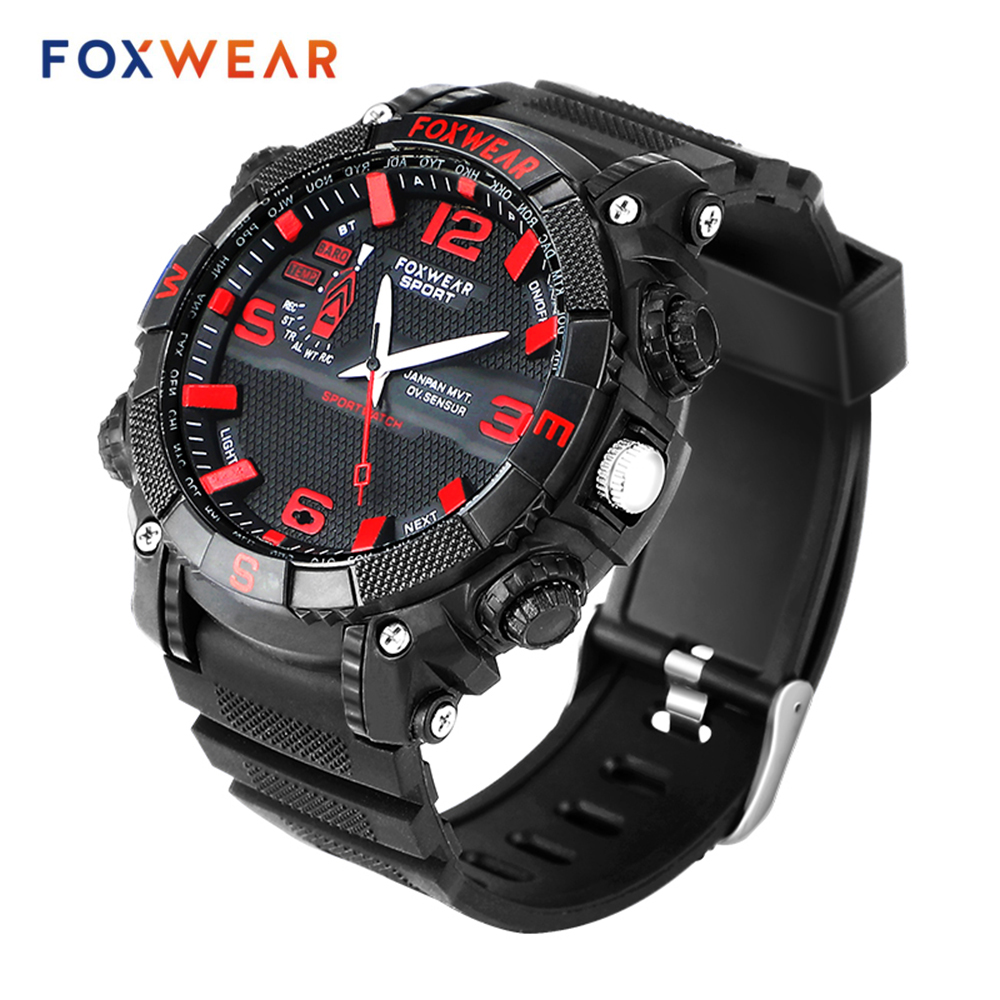 Fox 11 Smart Quartz Watch 128G Memory Disk Wifi Transmission File Backup IP67 Waterproof Led Lighting For Android IOS Smartphone
