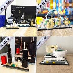 В наличии архитектура Сидней Чикаго Лондон Соломон р. Guggenheim музей совместим 21035 21034 21033 21032 игрушка для детей