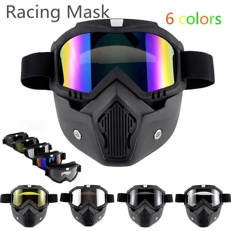 Winter Full Face Ski Mask Snow Sport Goggles Snowboard Snowmobile Face Mask Sun Glasses Eyewear