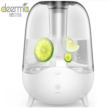 Deerma 5L Aroma Diffuser Ultrasonic Air Humidifier Essential Oil Mist Maker Purifying Dust Filter DEM-F325 for Home