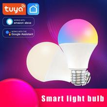 Dimmable 9W B22 E27 WIFI Smart Light Bulb LED Lamp Tuya Smart Life App Operate Alexa Google Home Control RGB Lamp Smart Lamp