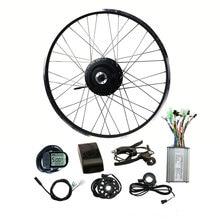 Комплект для переоборудования задних кассет и моторов EUNORAU 48V500W Shengyi DGW22C, бесщеточный Электрический велосипед 20/24/26/27/5/28 дюймов, колесо