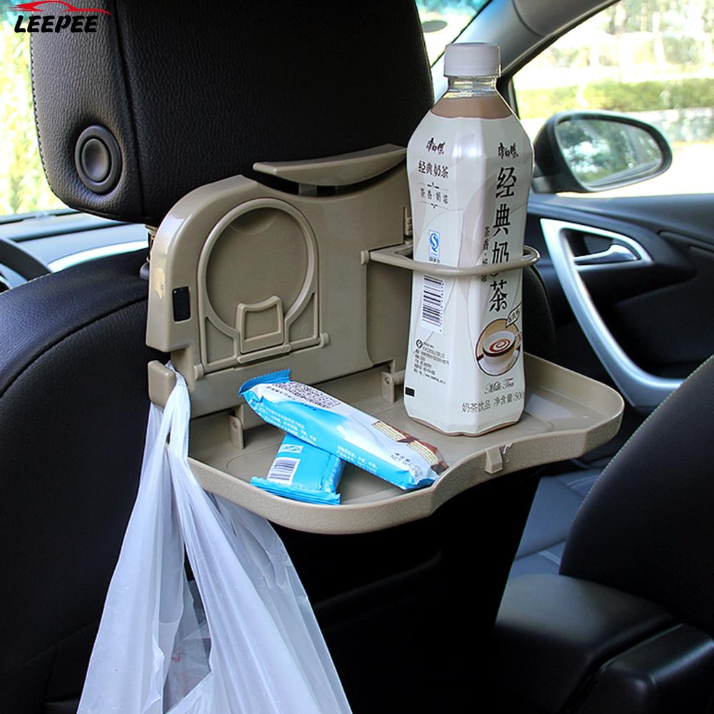 Car Accessories car cup holder Holder Stand Desk Car Back Seat Table car folding table Auto Drink Food Cup Tray